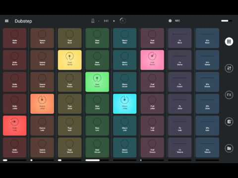 How to create Dubstep music with Remix Live Android