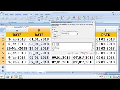 Convert TEXT to DATE in Excel