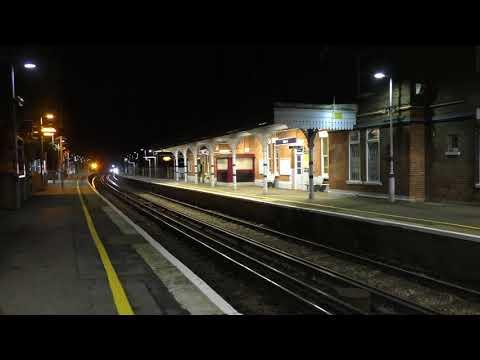 (HD) GBRf 66731 drags brand new Thameslink 700138 through Otford working 6X70 - 25/10/17