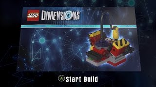 Lego Dimensions 71228 Ghostbusters Level Pack Ghost Stun N Trap Build