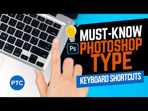 How Many of These 13 LITTLE-KNOWN Photoshop Type Keyboard Shortcuts Do You Know?