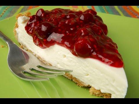 Cranberry Cream Cheese Tart Recipe Demonstration - Joyofbaking.com
