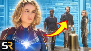 Download This Is How Captain Marvel's Post Credits Scene Ties In With Infinity War And Endgame Video