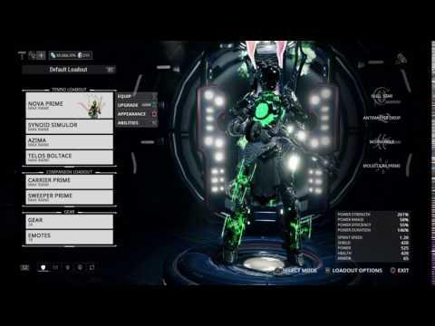 Nova Prime look.