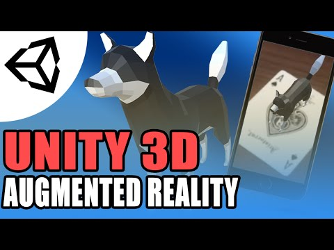 Augmented Reality (Vuforia AR)- Unity 3D[Tutorial][C#]