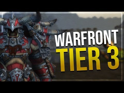 Warfront Tier 3 Mail Armor   Hunter & Shaman   All Horde Male & Female Races   In-game Preview!