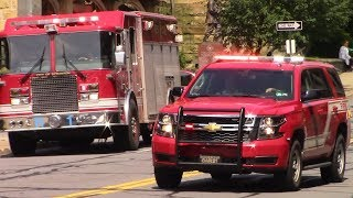 Fire Trucks Responding 2019 Compilation #2