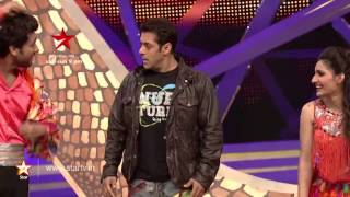 Week 10- Watch Salman Khan do his signature step with Ripu - Shivangi
