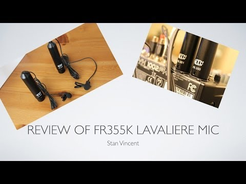 Review of FR-355K Lavalier Mic | Cardioid | Omni Directional Mic's | Microphones | FR 350 | FR 351