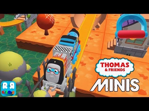 Thomas & Friends Minis - New Track The Pirate Port with Launcher Spencer - iOS / Android