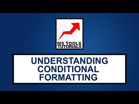 Excel Tutorial For Beginners - How To Use Conditional Formatting Basic | MS Tools Tutorials