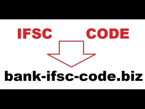 How to find IFSC CODE of a bank. http://bank-ifsc-code.biz