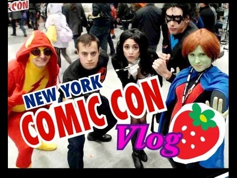 VLOG- New York Comic Con 2014