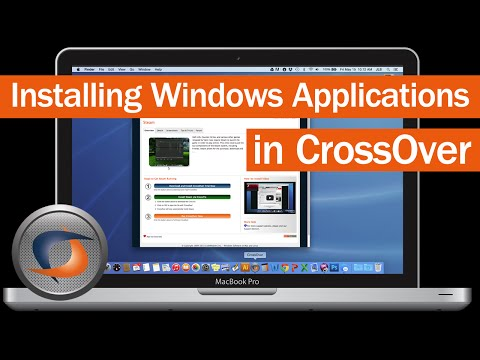 Install Windows Applications in CrossOver Mac
