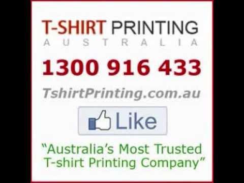 T Shirt Printing Australia  -  Australia's  # 1  Custom T Shirt Printing Company