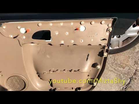 2006 chevy uplander door speaker pannel removal