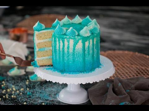 DIY Winter Wonderland Cake
