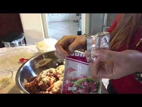 How to Make Beef Nem part 2 (Laos Recipe)