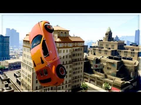 GTA 5 Funny Moments - HIT A STUNT - Episode 19 - (GTA V Online Stunts)