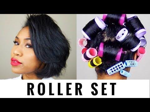 Roller Set Volume | ESSNTL x The Mane Choice