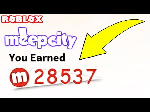 FAST & EASY WAY TO MAKE MONEY IN ROBLOX MEEP CITY