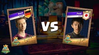 CCGS World Finals Round 1 - Berin vs Fuchi
