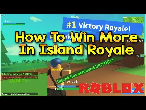 Island Royale Tips And Tricks! How To Get Better At Island Royale Roblox (Fortnite in Roblox)