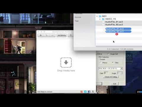Extract Audio from Video_TS folder Free on Mac