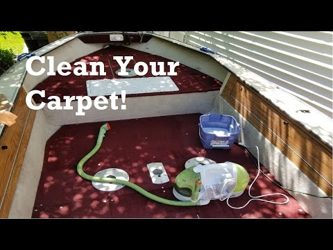 How To Clean Boat Carpet