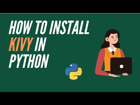 How to install kivy on  python (python game)