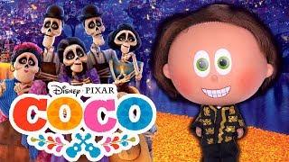 COCO Película en Español Con Barbie y Distroller - Juguetes Fantásticos