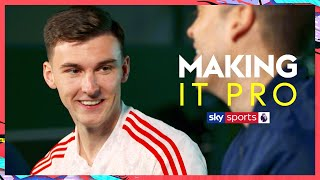 What does Kieran Tierney really think of Mikel Arteta as a manager?! | Making It Pro