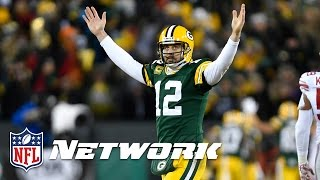 Aaron Rodgers the Greatest Passer of All Time?   Inside the NFL