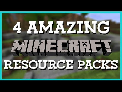 4 Amazing Resource Packs | Minecraft 1.8 | Texture Pack Review