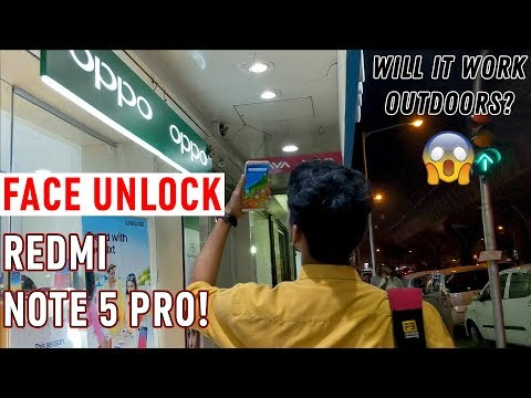 Testing Face unlock on Redmi Note 5 Pro! Is it good enough?