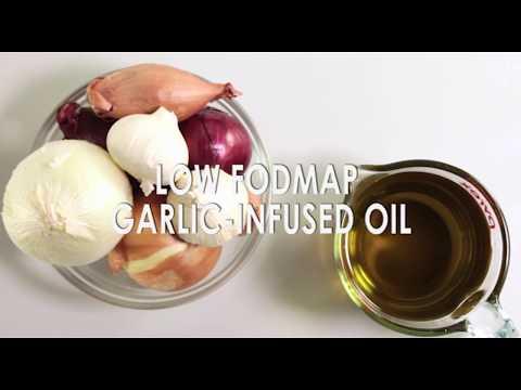 Low FODMAP Certified Garlic Infused OIl Recipe