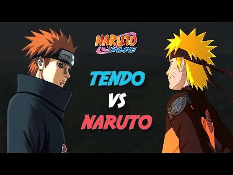 Naruto Online - GNW & Sage World Battlefields - Tendo vs Tailed Beast Naruto