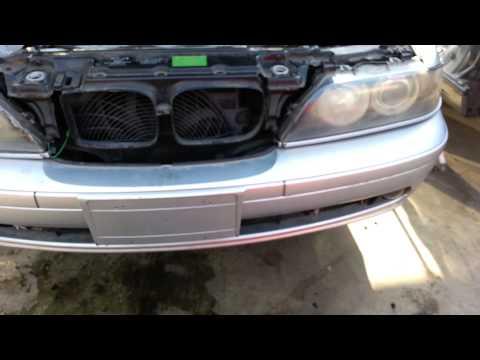 BMW E39 5-Series Front Bumper Cover Removal 525i 530i 528i