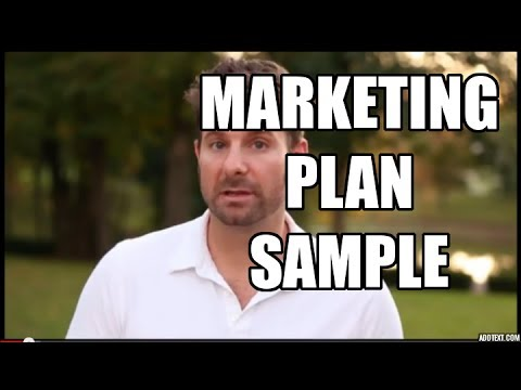 Marketing Plan Sample - 5 Simple Steps to Market Any Business