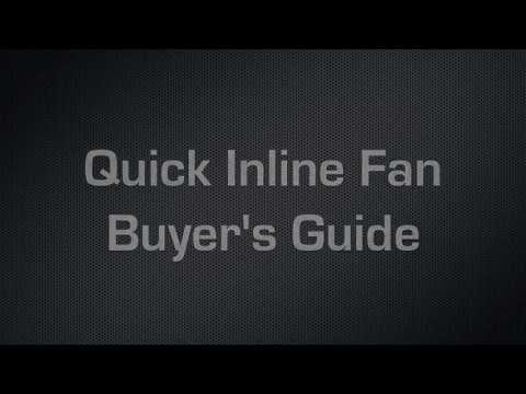 Inline Duct Fan 101 Buyers Guide | What Inline Duct Fan Should Buy For My Garden Room?Comparison