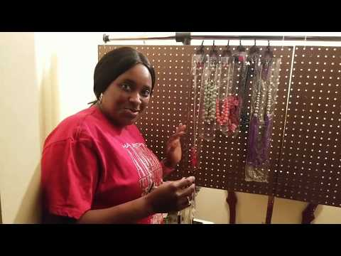 How to Make a Portable Paparazzi Jewelry Display