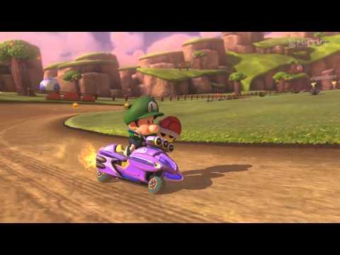 Wii U - Mario Kart 8 - (N64) Yoshi Valley