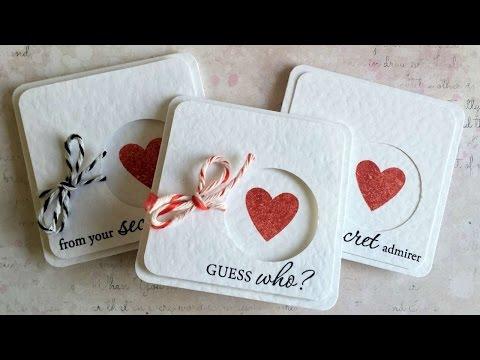 How To Make Mini Secret Admirer Valentine Cards - DIY Crafts Tutorial - Guidecentral