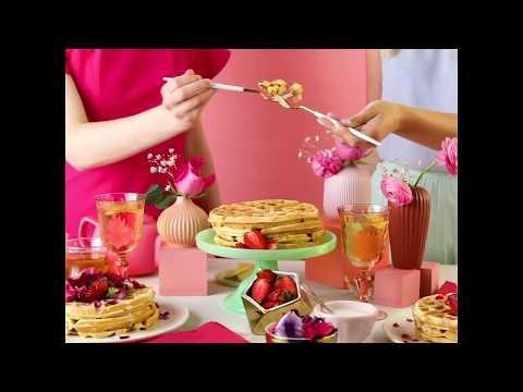 How to Make Royal Wedding Waffles