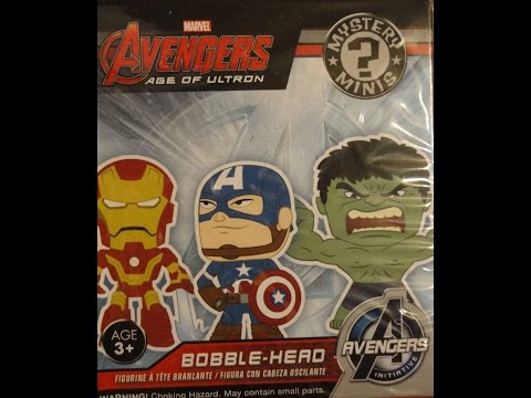 What's Inside - Avengers AOU Mystery Mini Bobble Heads Blind Box Funko