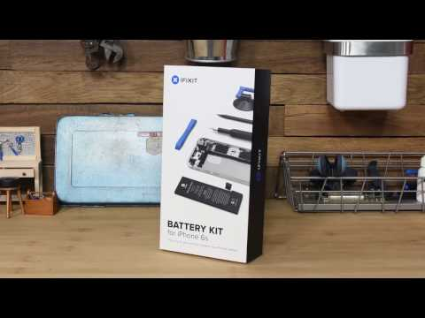 iFixit's New Battery Fix Kits for your iPhone