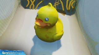 Search Tiny Rubber Ducky at Spot Hidden in Summertime Splashdown Screen Location - Fortnite