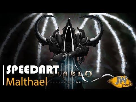 Speedart: Diablo 3 Reaper of Souls - Malthael