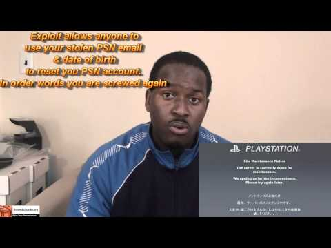 PSN Login Exploited Again| Booredatwork