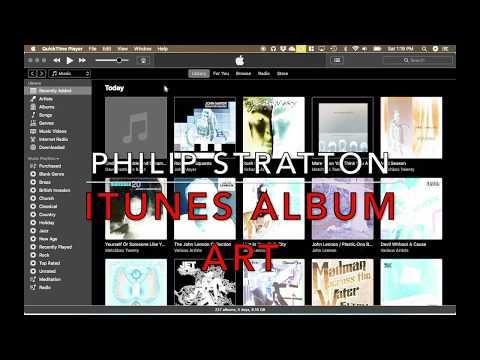 Adding iTunes Album Art